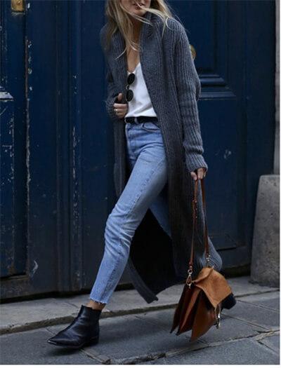 Jean femme : comment trouver le jean idéal, ici jean crop