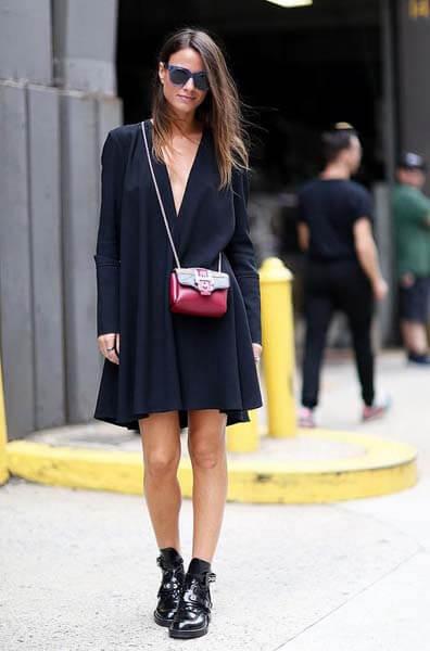 Petite robe noire en été