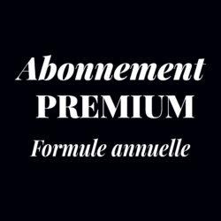 Visuel abonnement premium formule annuelle