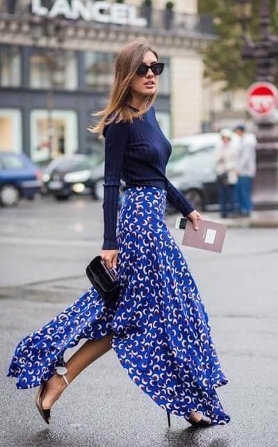 Jupe longue : comment bien la choisir et comment la porter avec style !