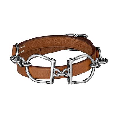 Les bracelets : comment bien les choisir et bien les porter, ici bracelet Mors Hermès