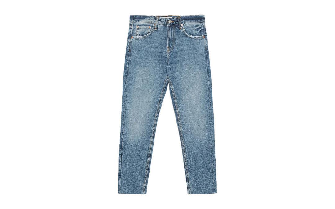Le jean droit