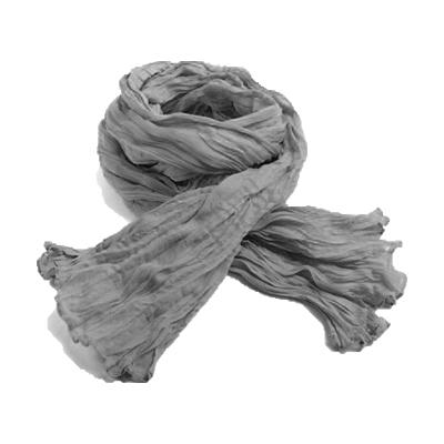 Foulard  pour femme (ici cheche gris) : comment bien le choisir et comment le porter avec style !