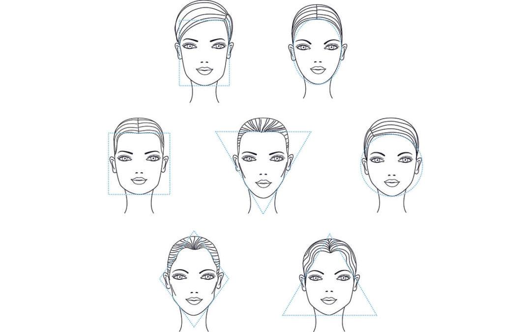 Comment déterminer la forme de ton visage ?