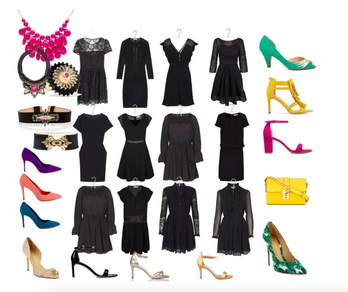 s'habiller pour un restau chic petite robe noire