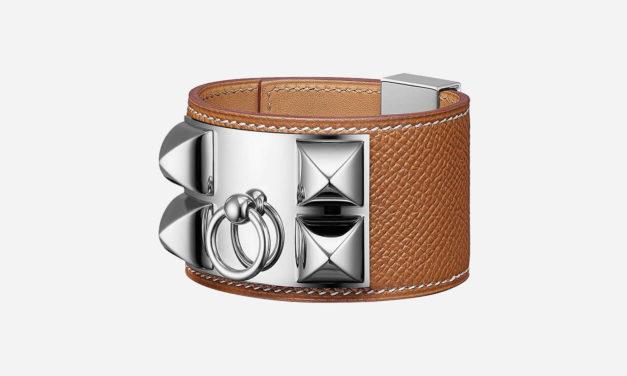 Le bracelet «collier de chien» chez Hermès