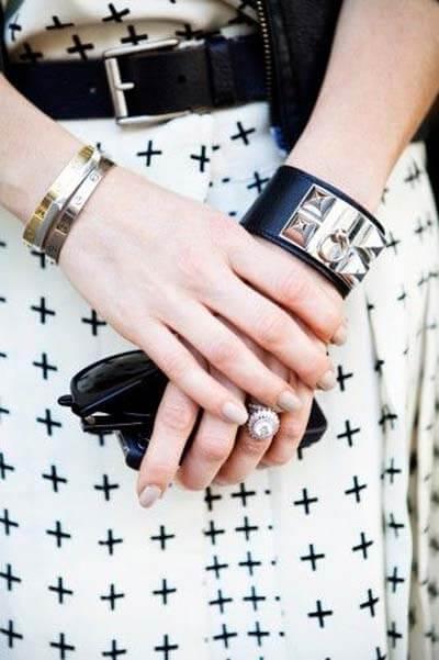 Pièce iconique - Bracelet collier de chien Hermès