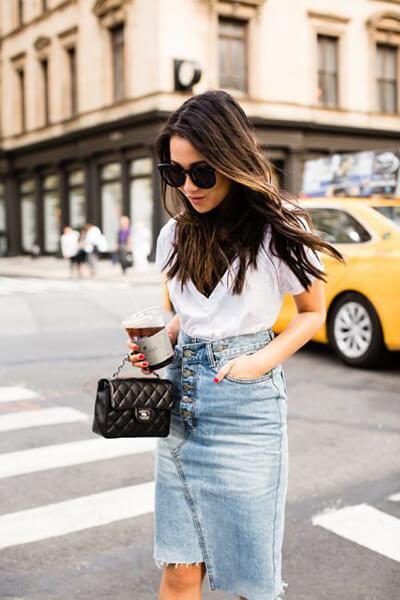 Jupe en jean : comment bien la choisir et la porter avec style !