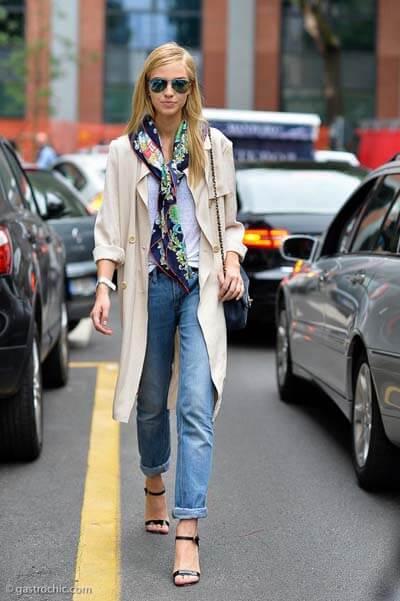 Foulard  (femme) : comment bien les choisir et comment les porter avec style !