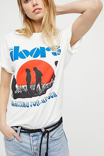 T-shirt vintage The Doors (Bohemian Outsiders)