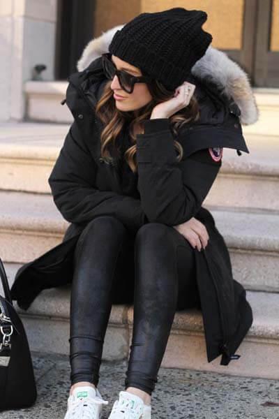 Avoir du style en hiver