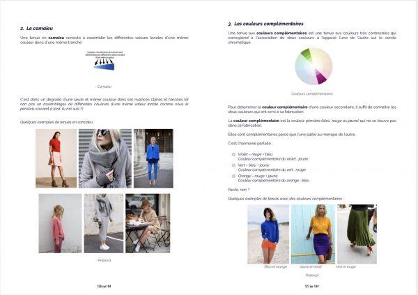 Ebook La garde-robe idéale - Commencer - Les couleurs