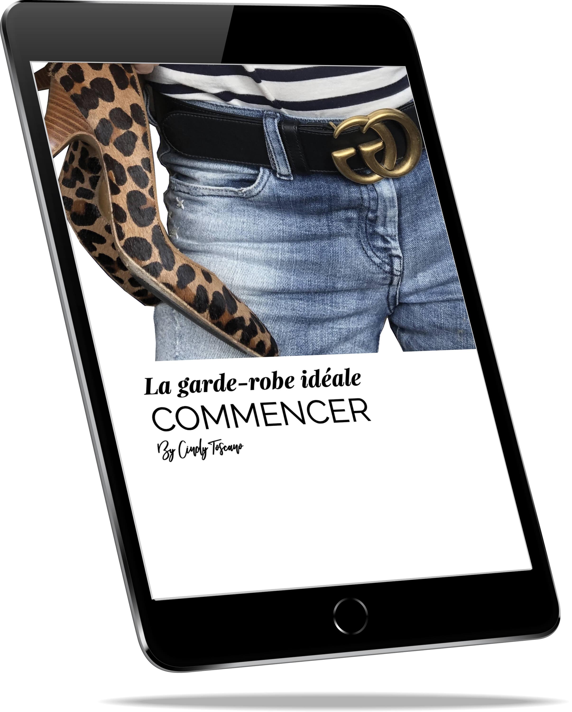 Ebook - La garde-robe idéale - Commencer