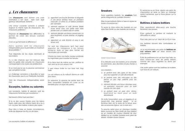 Ebook La garde-robe idéale - Commencer les chaussures