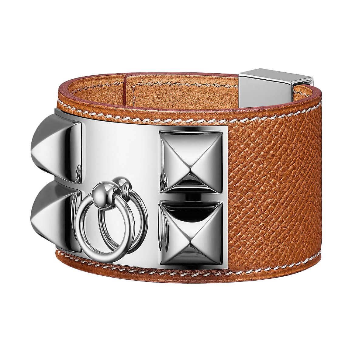 Pièce iconique : Bracelet collier de chien Hèrmes