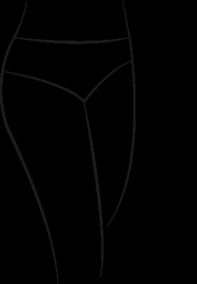 Culotte pour hanches fines