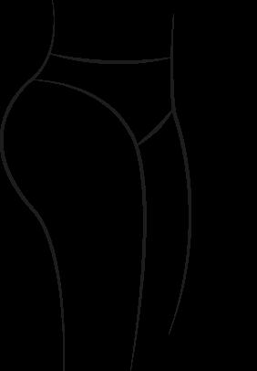 Culottes pour fesses rebondies