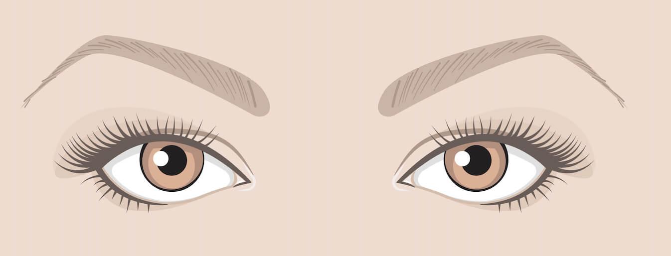 Maquiller tes yeux en fonction de leur forme :  Hooded eye (paupière tombante)