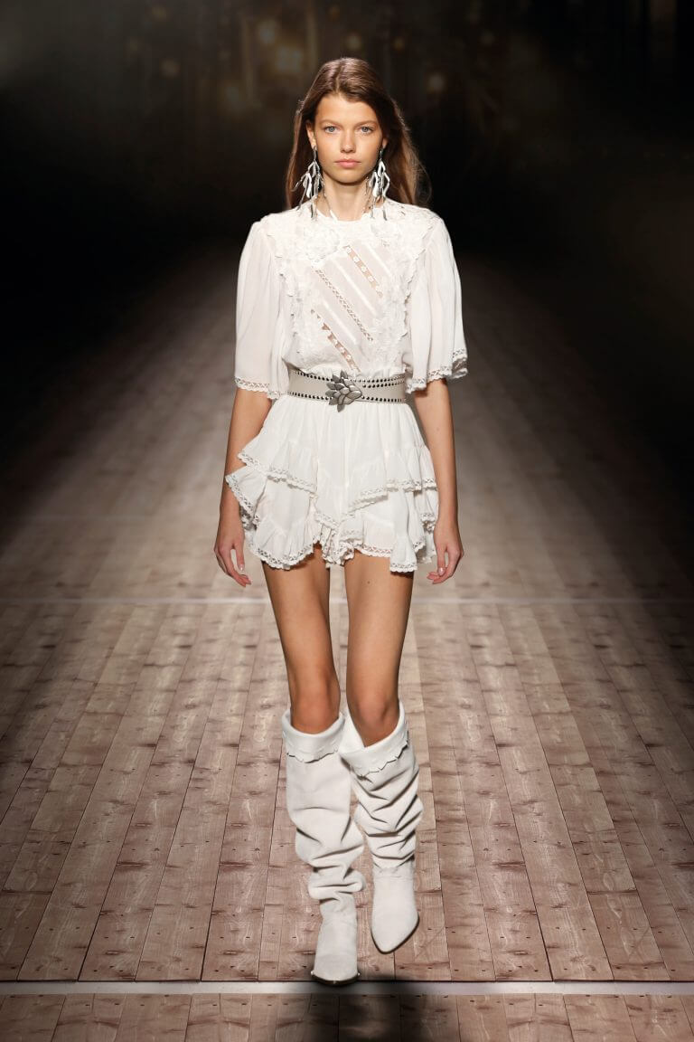 Isabel Marant lookbook robe