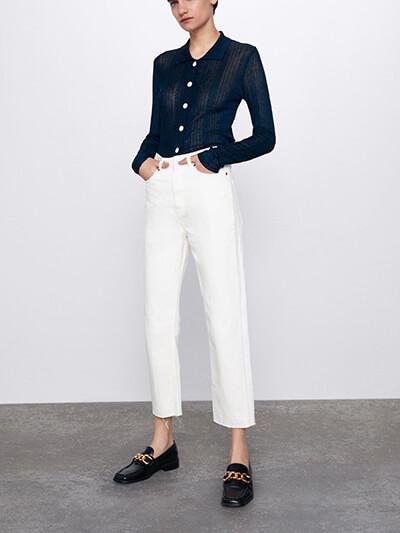 Jean Zara Premium Ankle Straight
