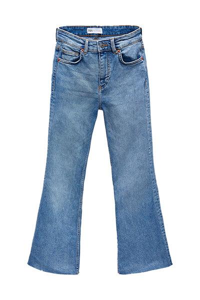 Jean flare used Zara