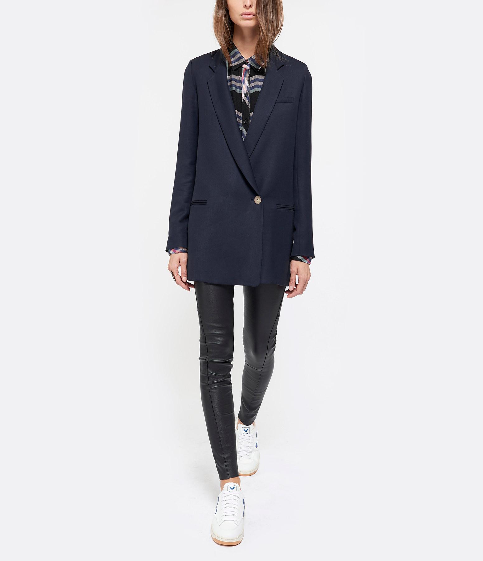 Comment choisir et porter skinny en cuir, ici Skinny cuir Saint Laurent