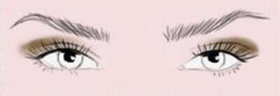 Maquillage des yeux en amande