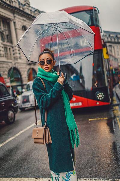Notjessfashion - Parapluie transparent