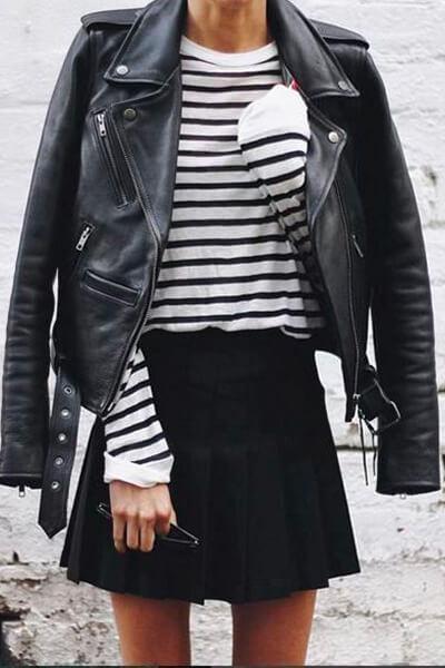 Perfecto & blousons en cuir : comment bien les choisir et comment les porter avec style ?