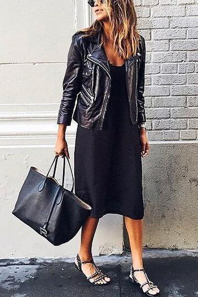 Perfecto et petite robe noire
