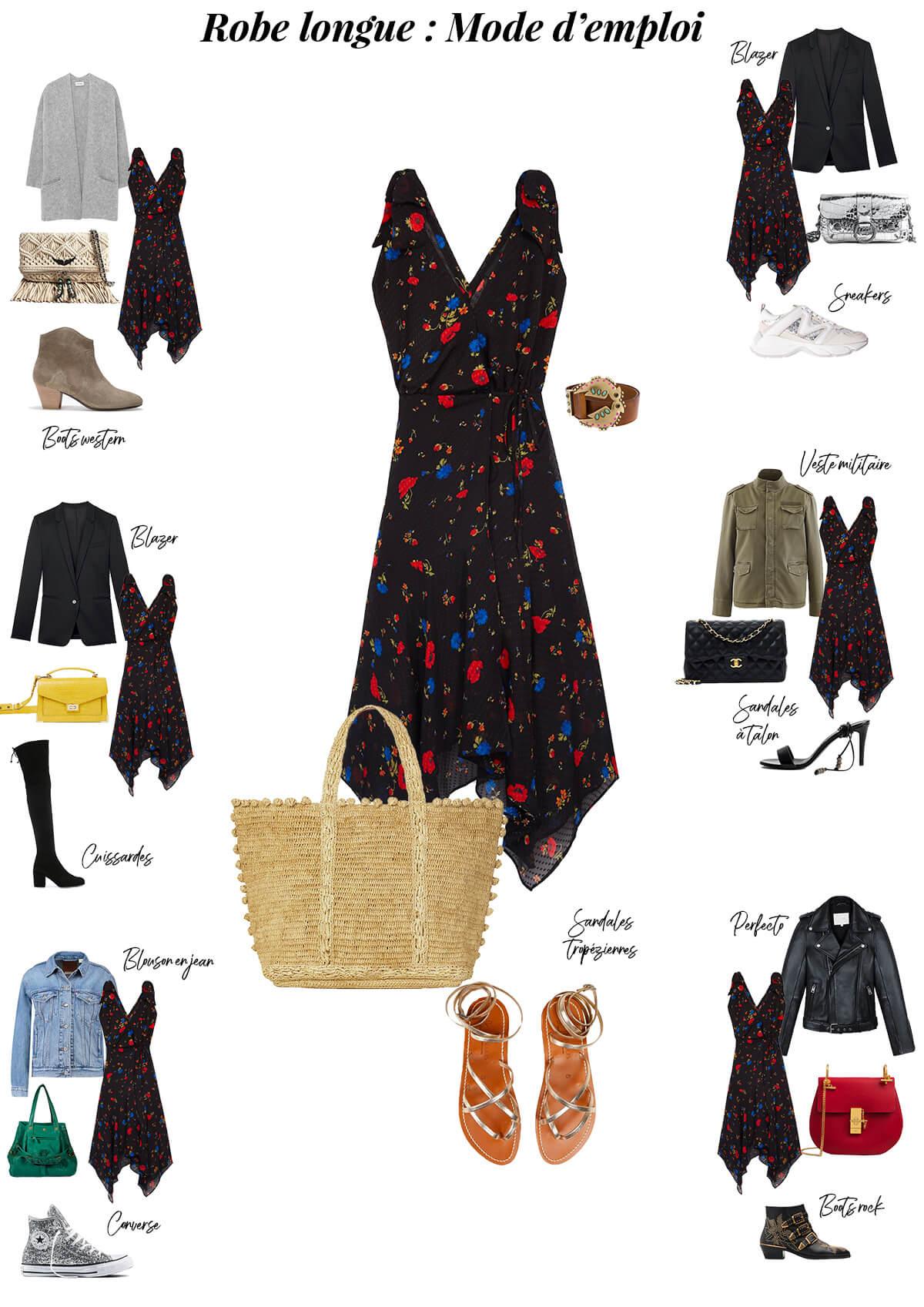 Selection soldes robe longue mode d'emploi