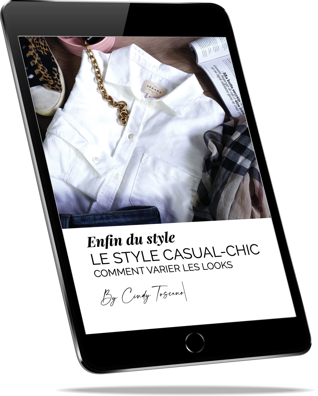 Ebook les pièces du dressing sur Ipad