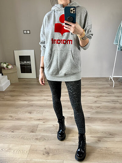 style casual chic zadig & voltaire