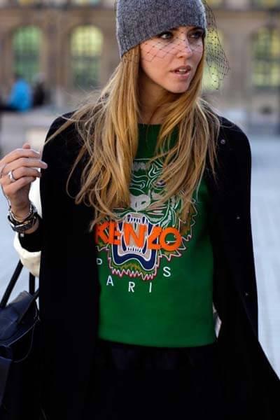 Sweat-shirt Kenzo vert