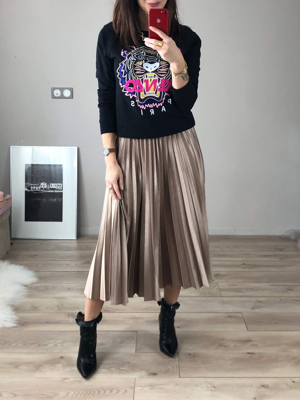 Total look jean blouson jean + jupe en jean
