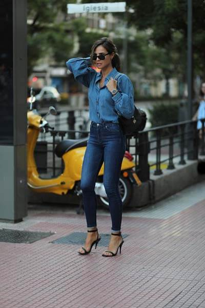 Total look jean style lovely