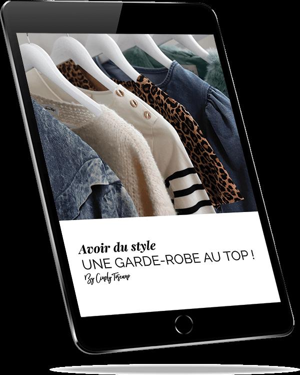 ipad ebook les pièces du dressing