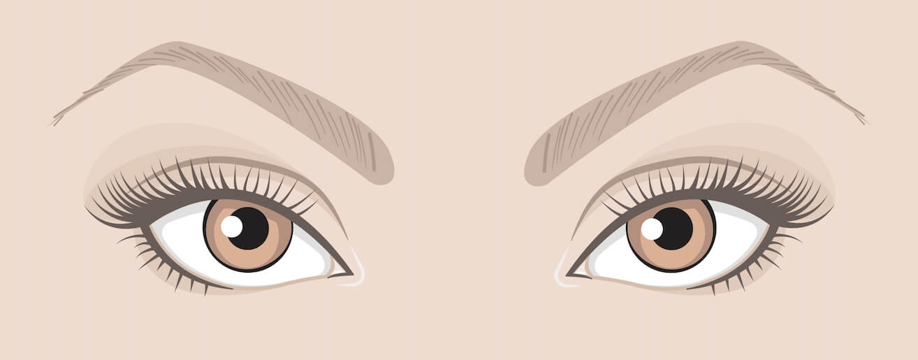 Maquiller tes yeux en fonction de leur forme :  Yeux tournés vers le haut
