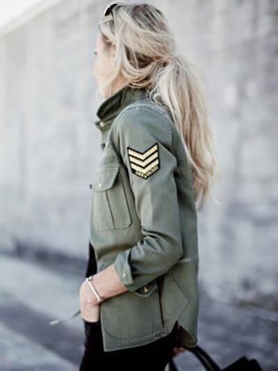 Zadig et voltaire veste militaire