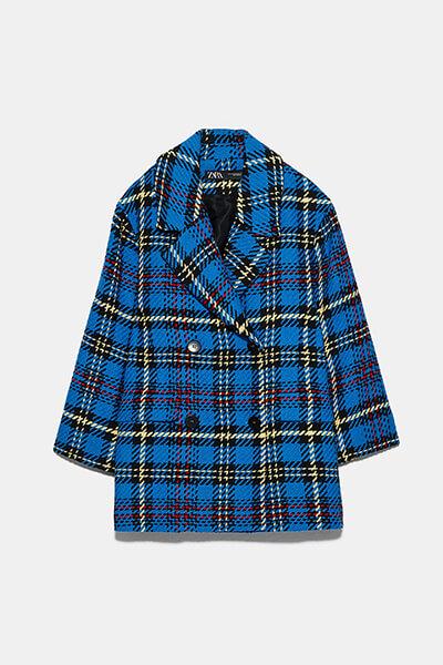 Comment porter du tweed : manteau en tweed