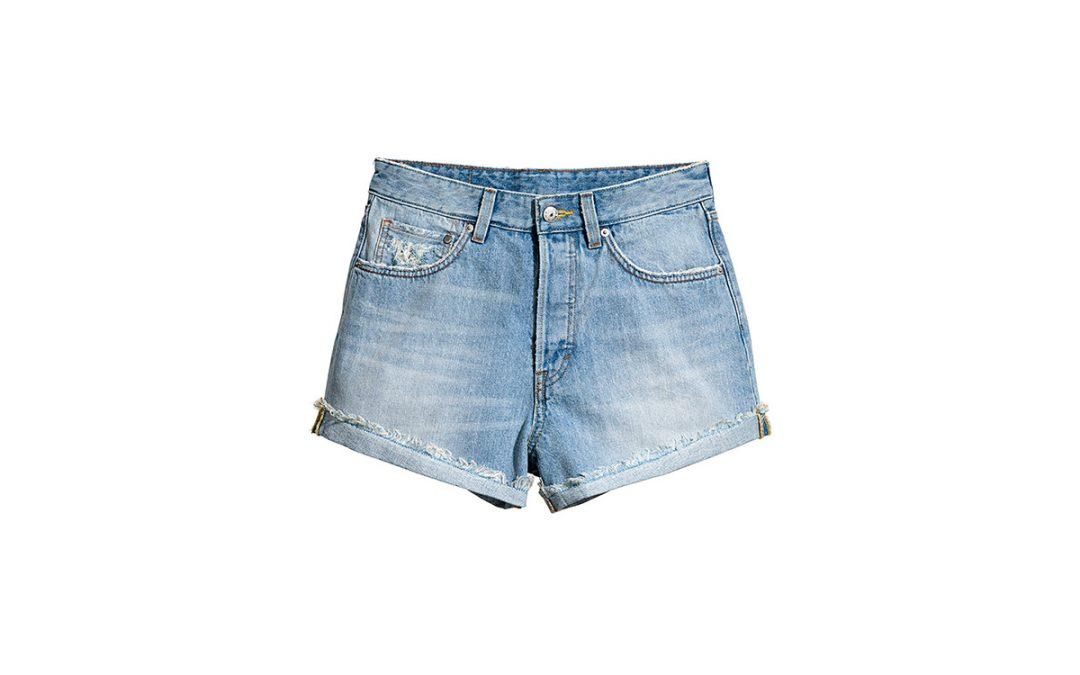 Le short en jean